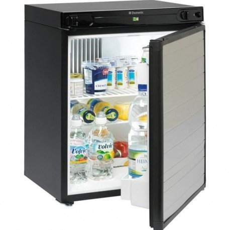 DOMETIC 9105203240 Kühlschrank, schwarz/Silber