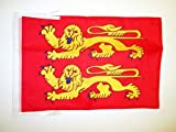 DRAPEAU BASSE-NORMANDIE 45x30cm - PAVILLON BAS-NORMAND - FRANCE 30 x 45 cm haute qualité - AZ FLAG