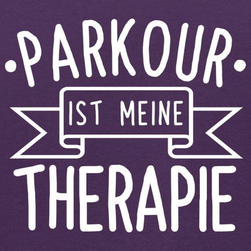 Parkour ist meine Therapie - Herren T-Shirt - 13 Farben Lila