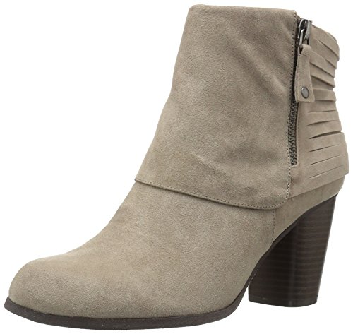 Madden Girl Women's Destory Ankle Bootie, Taupe Fabric, 9.5 M US image