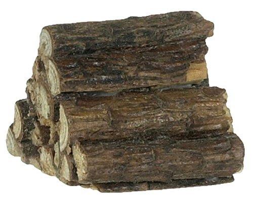 Melody Jane Puppenhaus Miniatur Kamin Holzofen Yard Zubehör Stack Pile of Logs - Yard-zubehör