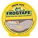 FrogTape 282547 Shape Tape Painting Tape, Wave Design, 1.81-Inch x 25-Yard Roll by FrogTape