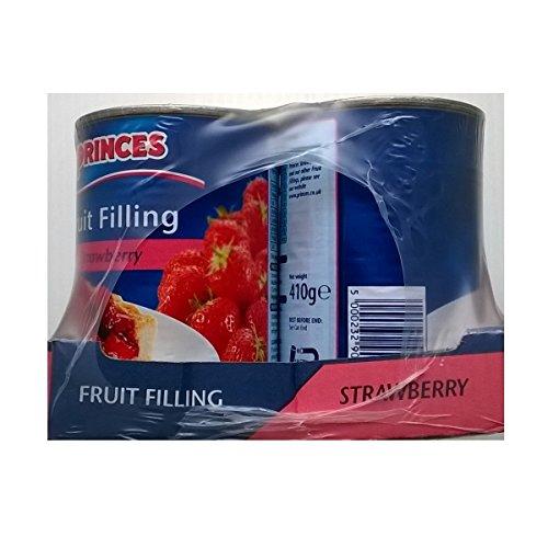 Princes Fruit Filling Strawberry 6 x 410gm Test