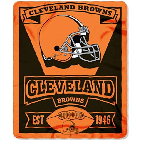 Cleveland Browns 50 x 60 – Coperta in pile Marque Design