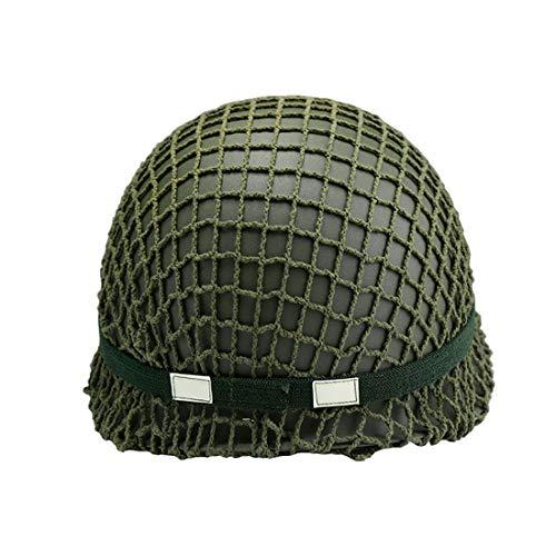 LHY TRAVEL Imitazioni Casco della Polizia Casco SWAT Esercito Militare Fan M88 Comando Casco tattico Protettivo Speciale Casco Regolabile per Airsoft CS Protettivo Wargame Uomini Adulto