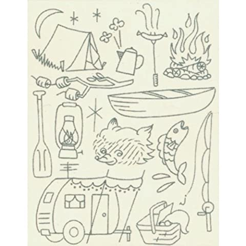 Sublime Stitching Camp Out Embroidery Patterns