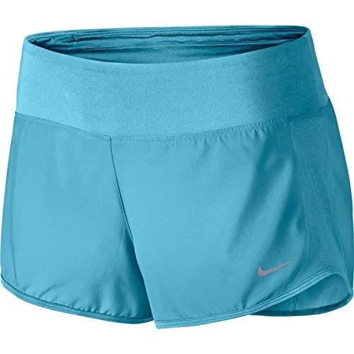 Nike crew Short Femme Bleu (Vivid Sky / Vivid Sky)