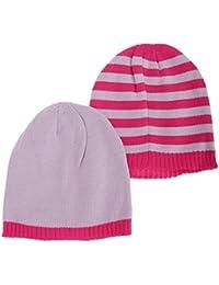 Bonnets tricotés (lot de 2) - Fille