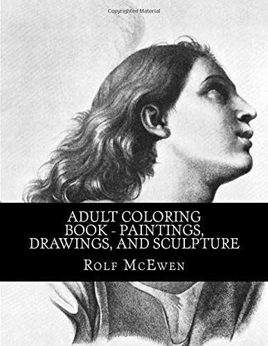 Adult Coloring Book - Paintings, Drawings, and Sculpture