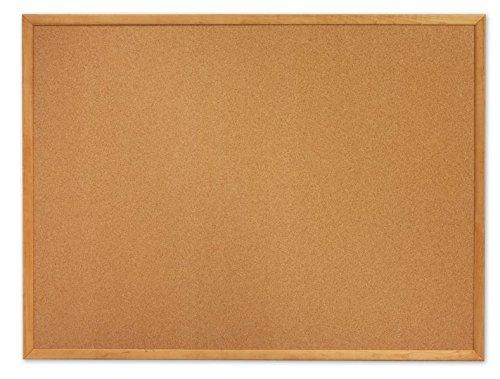 Classic Cork Bulletin Board, 72 x 48, Oak Finish Frame 60 X 36/Oak Finish Frame by Quartet