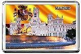 MADRID FRIDGE MAGNET 003 THE CAPITAL CITY OF SPAIN CALAMITA DA FRIGO