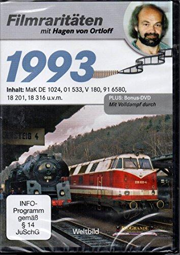 Preisvergleich Produktbild 1993 Filmraritäten mit Hagen von Ortloff