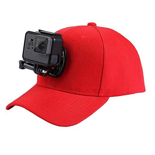 l Mütze mit J-Haken-Ständer verstellbar Sun Cap mit Halterung für Gopro hero6/5/5Session/4Session/4/3+/3/2und xiaoyi Action Kameras (Jungen-float-anzug)