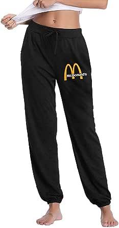Lsjuee McDonalds Women 's Workout Active Wear Pantaloni Lunghi per Yoga Running Pantaloni Sportivi Sportivi
