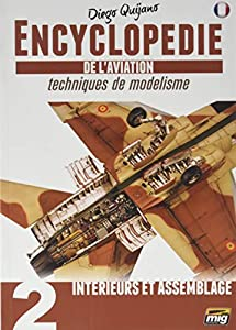 AMMO MIG-6071 Enciclopedia of Aircraft Modelling Techniques - Vol.2 - Interior y Montaje en francés, Multicolor