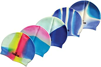 Cosco Multicolor Swimming Cap