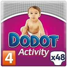 Dodot Activity - Pañales para bebés - talla 4, 8-14 kg, 48 unidades