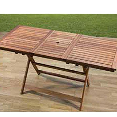 Meranti tavolo allungabile 120 160x70 negozio tavoli da for Tavoli amazon