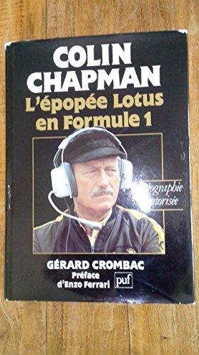 Descargar Libro Colin Chapman de Gérard Crombac
