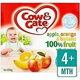 Vache Et Porte Pommes Oranges Et Bananes Pots De Fruits...