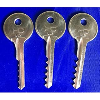 Universal 3 Piece 5/6 Lever Bump Keys - (most popular set)