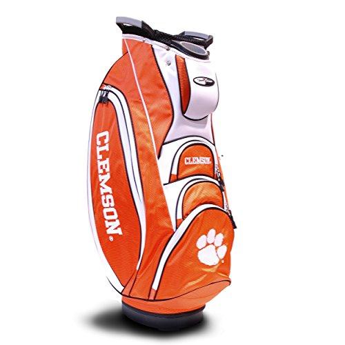 Team Golf NCAA Victory Golftasche, 10-Wege-Oberteil mit integriertem Doppelgriff und externem Putterschlauch, Kühltasche, gepolsterter Gurt, Regenschirmhalter und abnehmbarer Regenhaube, Herren, multi -
