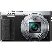Panasonic DMC-TZ70EG-S - Cámara compacta de 12.1 Mp (zoom óptico 30x, estabilizador óptico, vídeo Full HD, WiFi), negro y plateado