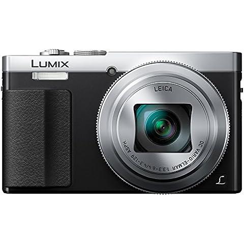Panasonic DMC-TZ70EG-S - Cámara compacta de 12.1 Mp (zoom óptico 30x, estabilizador óptico, vídeo Full HD, WiFi), negro y