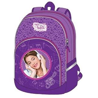Mochila Violetta Disney Love & Music grande