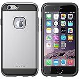iPhone 6 / 6S Case Schutzhülle, i-Blason Apple iPhone 6 / 6S 4.7 Tasche Etui Unity Serie Zwei Schicht [Ultradünn] Gepanzerte Hybride Hülle mit weichem Inner Deckel und äußere Hartschale für iPhone 6 (Gun Metal)