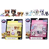 Littlest Pet Shop Cubby Hill Pack & Playful Kitties With 10 Pet & 10 Accessroies Bundle By The Pet Shop
