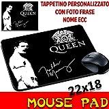 Maus Pad Queen Freddie Mercury Personalisierte Mauspad mit Foto, Logo etc