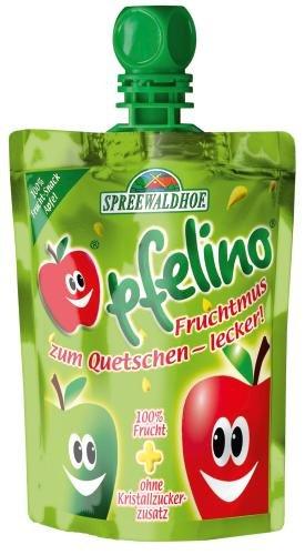 Spreewaldhof Pfelino Apfel, 18er Pack (18 x 100 g Beutel)