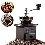 Manuelle Kaffeemühle für Kaffeebohnen, Gewürze, Kräuter, Vintage, Retro-Handschleifwerkzeug, Holz-Mühle
