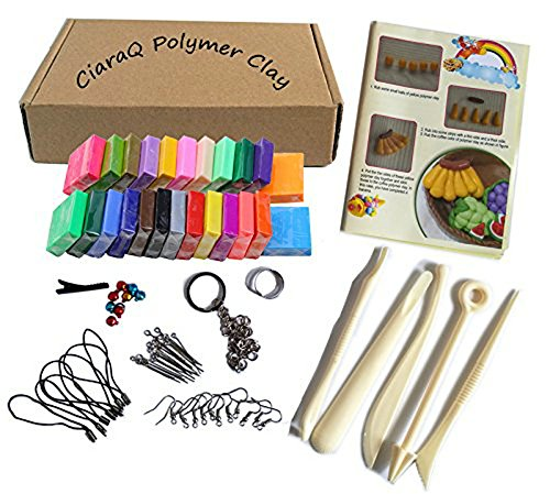 polymer-clay-ciaraq-24-colors-oven-bake-diy-colorful-clay-safe-and-nontoxic-soft-moulding-craft-set-