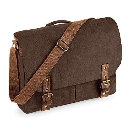 Quadra , Damen Satchel-Tasche Vintage Brown