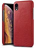 SLEO Coque pour iPhone XR(6.1 Pouces),Etui Housse Slim Modèle de Texture Classique...