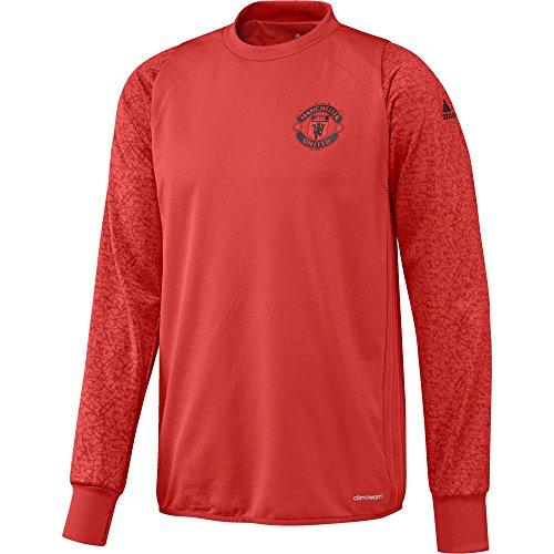 adidas Manchester United FC EU TRG Top - Sweatshirt für Herren, Farbe Rot, Größe M - Pullover United Manchester