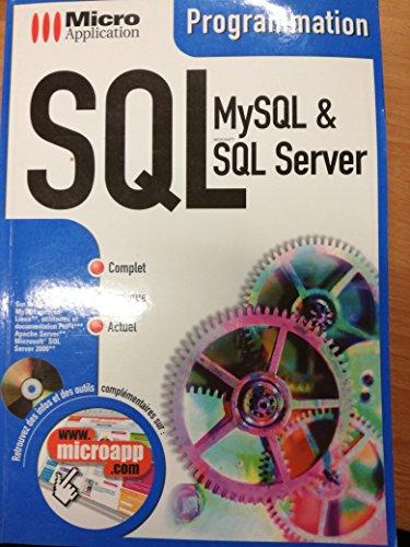 SQL. MySQL & SQL Server, avec CD-ROM par Thierry Thaureaux de Levare
