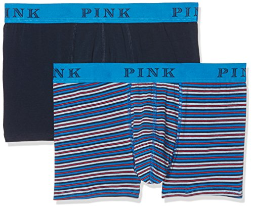 thomas-pink-herren-boxershorts-cross-multicoloured-navy-blue-red-stripe-m