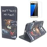 König-Shop étui Portable pour Samsung Galaxy Housse Etui Rabattable Etui, Housse De...