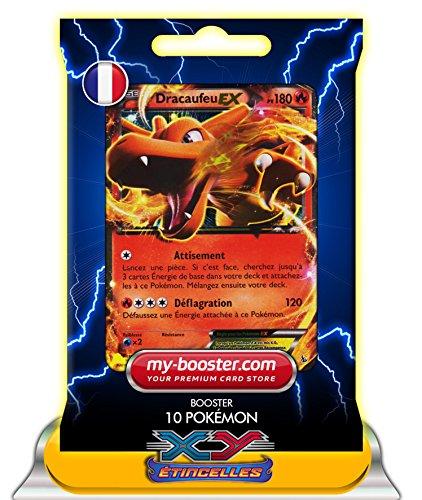 DRACAUFEU EX 11/106 180PV XY 2 Etincelles - Booster de 10 cartes Pokemon francaises my-booster