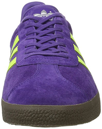 adidas Gazelle, Scarpe da Ginnastica Basse Uomo Viola (Unity Purple/solar Yellow/gum)