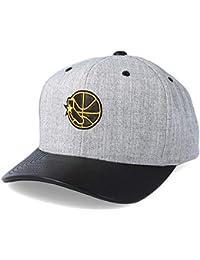 e70876968f3 Mitchell   Ness Golden State Warriors Vintage Top Shelf Curve Grey  Adjustable