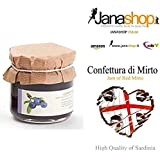 MIRTO CONFETTURA, Confettura di Mirto, 220 gr. Prodotti Sardi