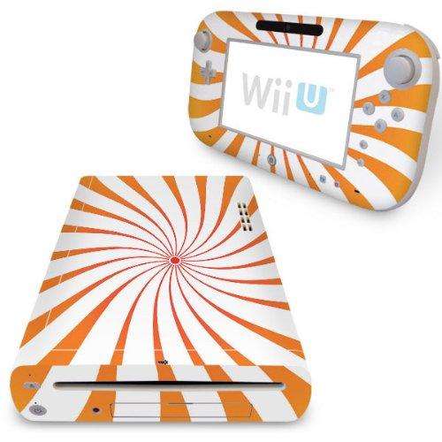 YOUNiiK Styling Skin Designfolie für Nintendo Wii U und Game Pad - Candy Bar Candy-bar-handys