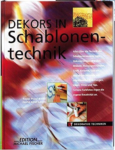 Dekors in Schablonentechnik (Dekorative Techniken) (Farm-dekor)