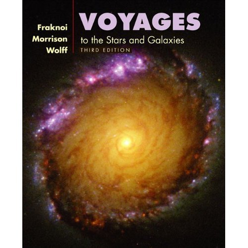 Voyages to the Stars and Galaxies, Media Update (with CD-ROM, Virtual Astronomy Labs, and AceAstronomyTM) by Andrew Fraknoi (2005-03-30)