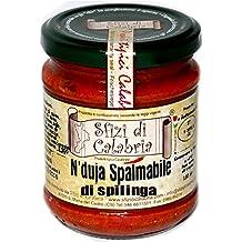 Nduja nduia di Spilinga in Vaso 190gr Salame Calabrese Spalmabile Piccante