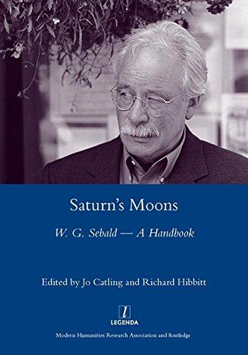 Saturn's Moons: W.G. Sebald - A Handbook: A W.G Sebald Handbook